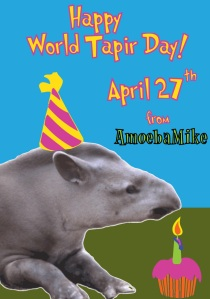 World Tapir Day card